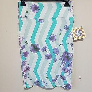 NWT Lularoe Cassie Pencil Skirt XS